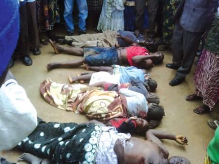Jos, Nigeria 22 June 2018 Killing