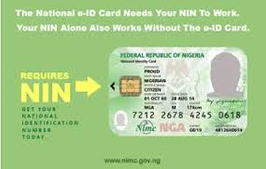 National Identity Number, NIN