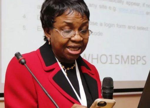 NAFDAC DG, Professor Mojisola Adeyeye
