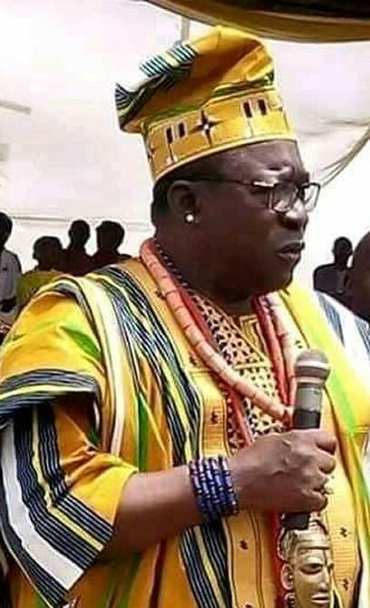 His Royal Majesty, Michael Idakwo Ameh-Oboni 11
